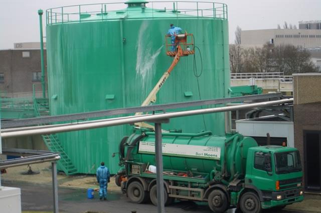 Bart Moens Hogedrukreiniging industrieel