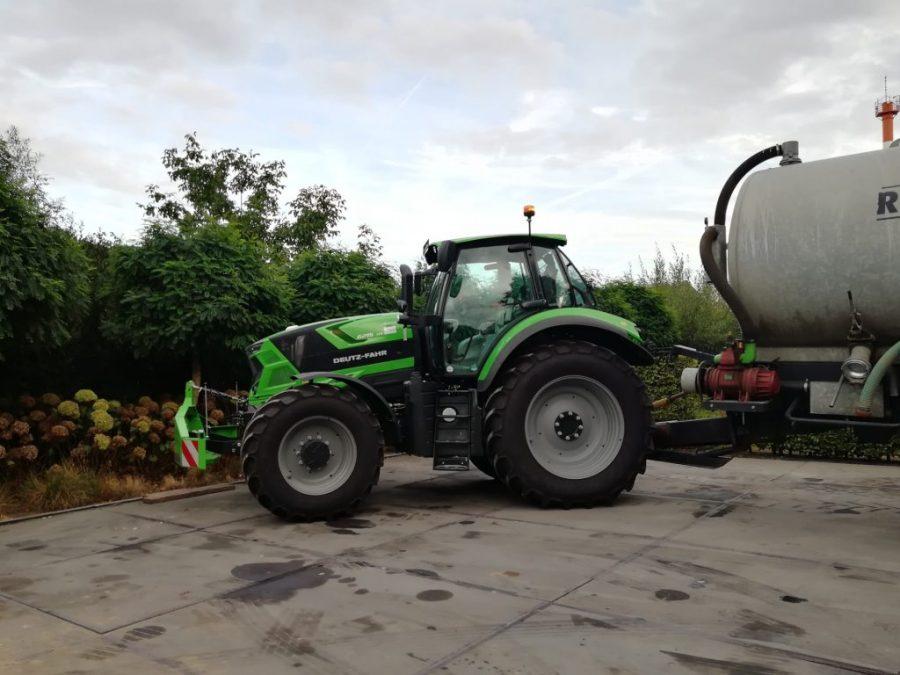 Bart Moens ontstoppingsdienst ruimdienst tractor