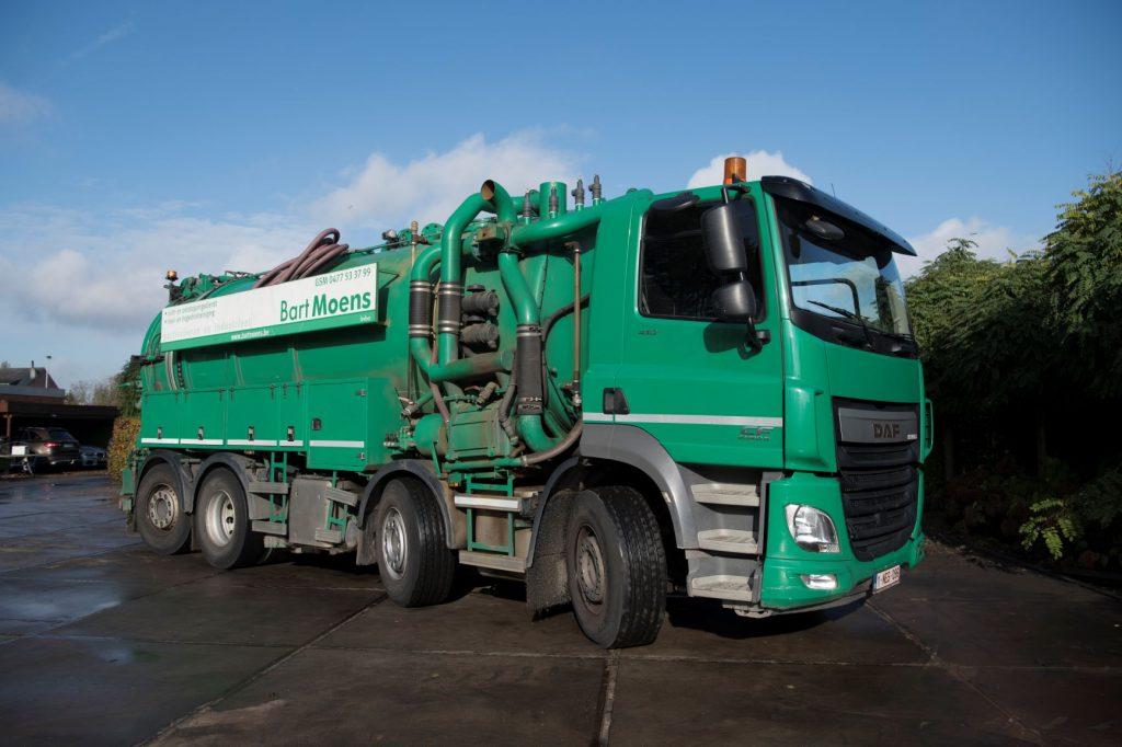 vrachtwagen ontstoppingsdienst ruimdienst industriel