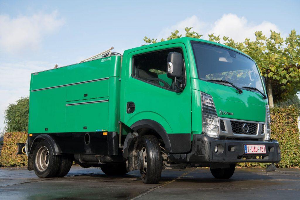 mini-vrachtwagen ontstoppingsdienst particulier industrieel
